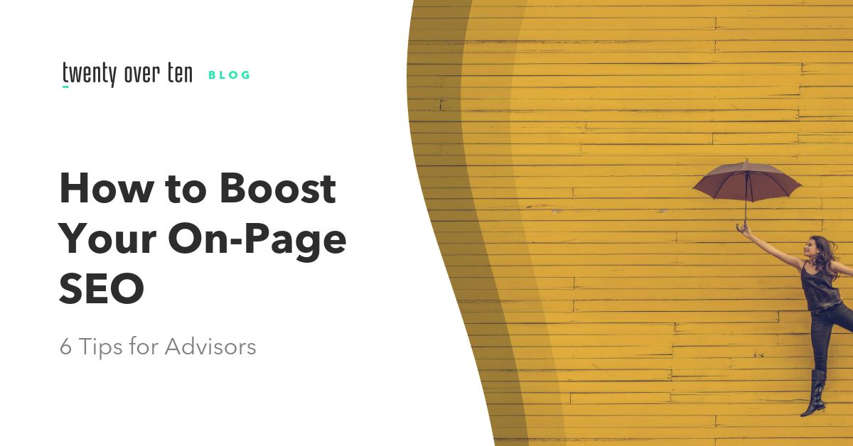 tips to boost your on-page seo