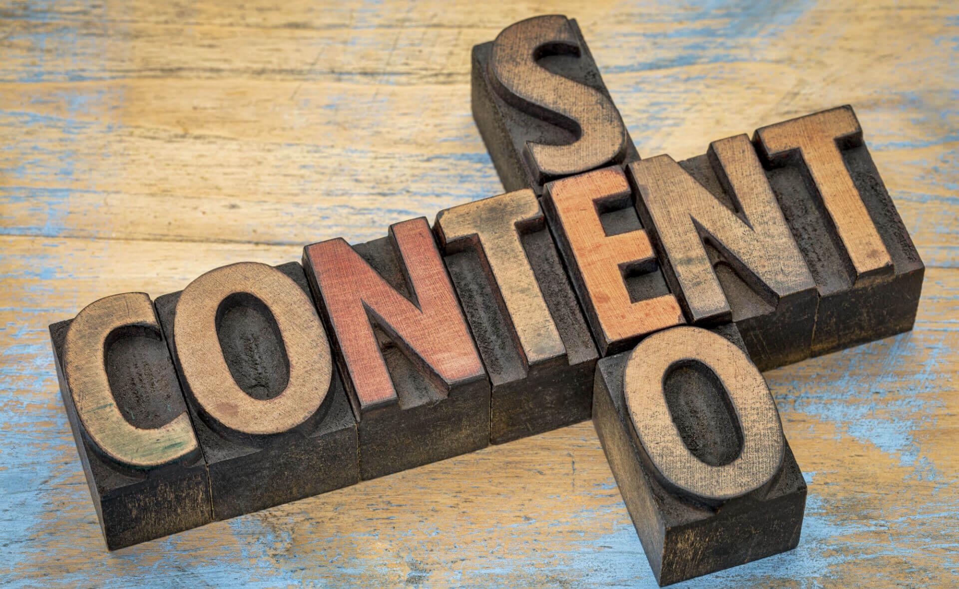 seo and content blocks - the seo plateau
