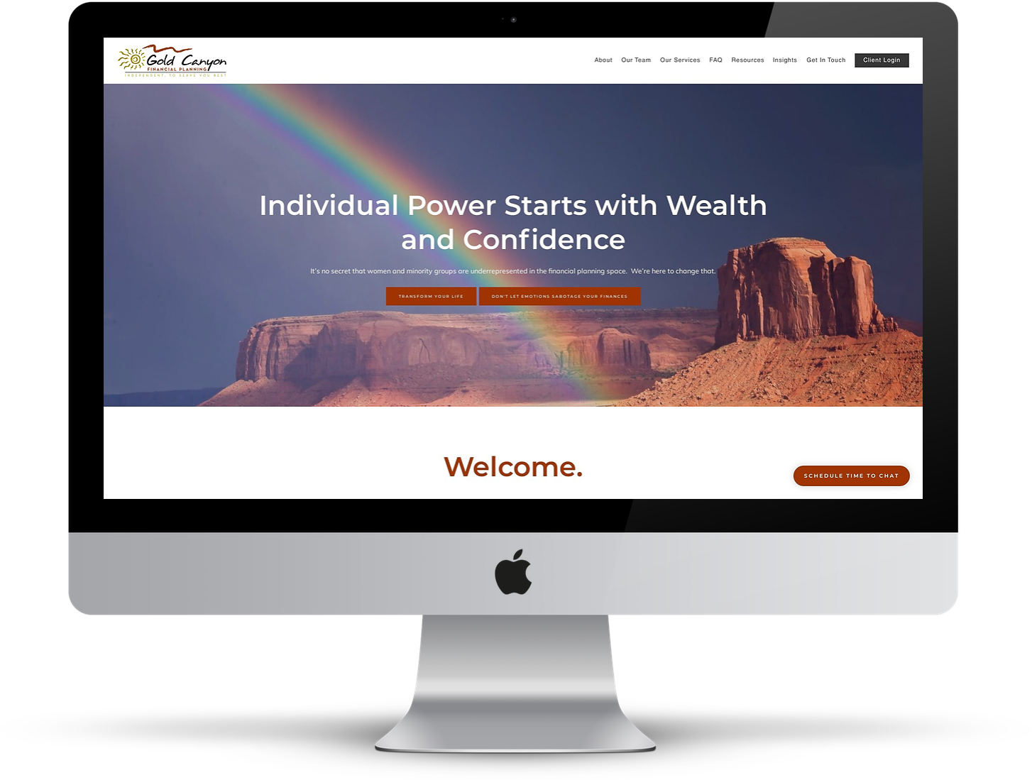 best financial advisor website, twenty over ten, Gold Canyon Financial Planning