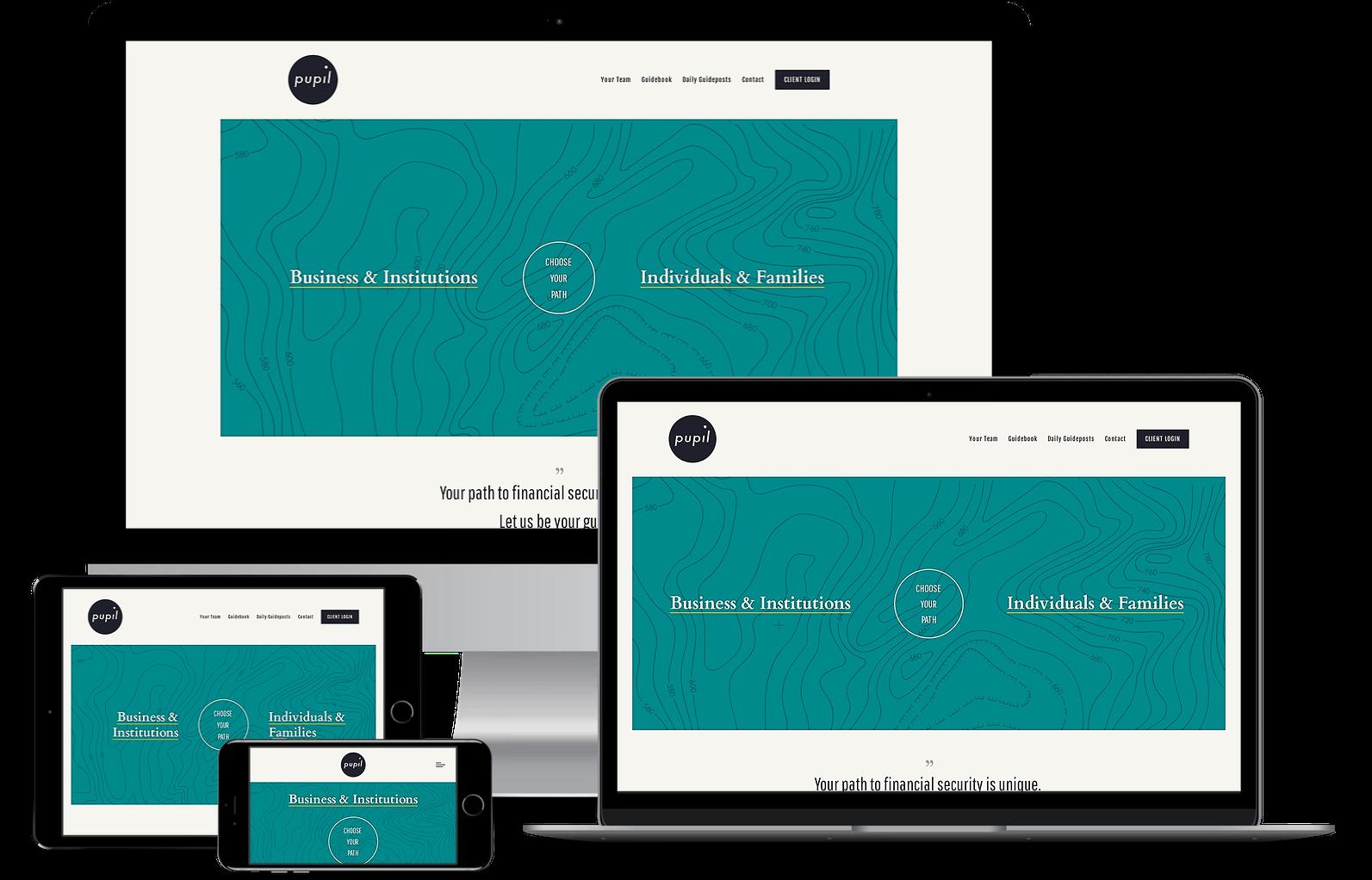 framework website for financial advisors twenty over ten