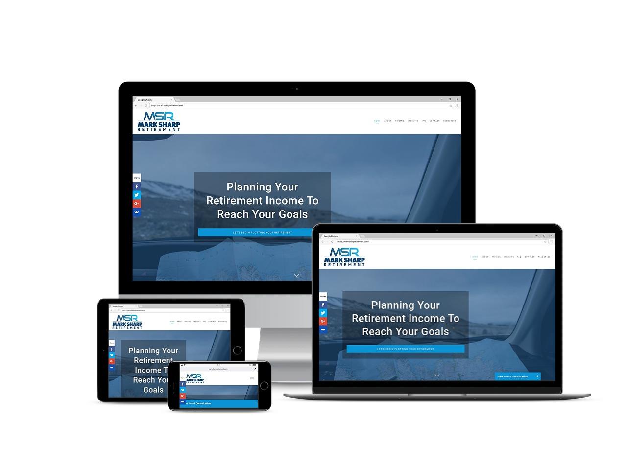 mark sharp retirement poc people of color financial advisor website