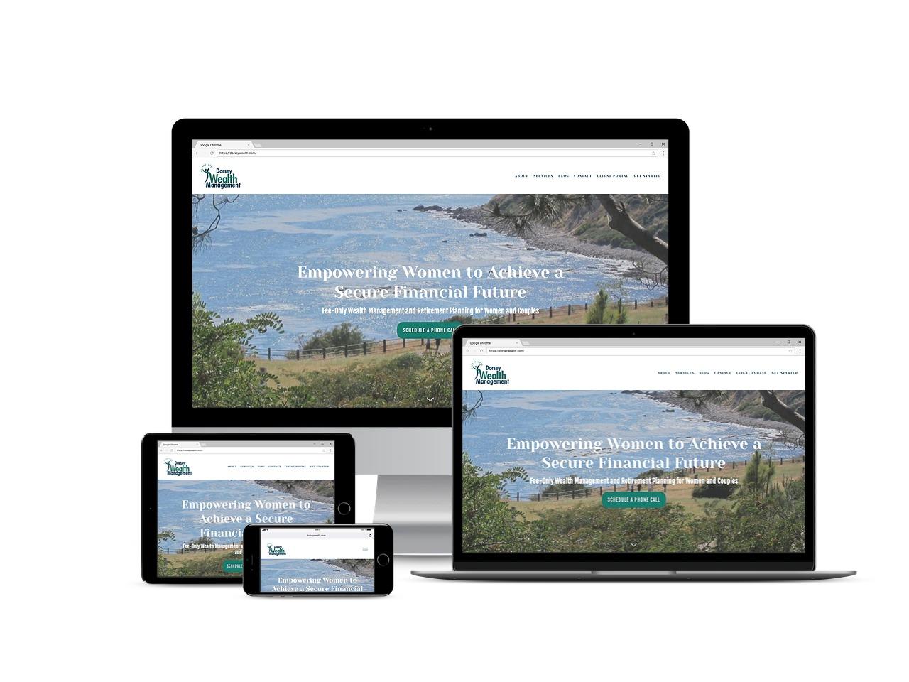 dorsey wealth management poc people of color financial advisor website