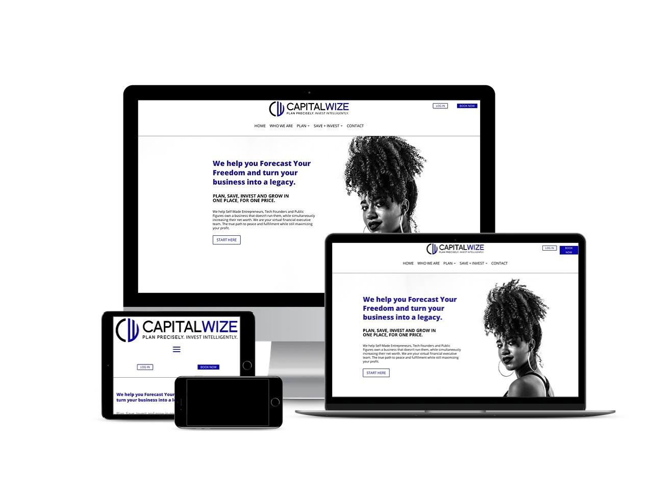 capital wize poc people of color financial advisor website