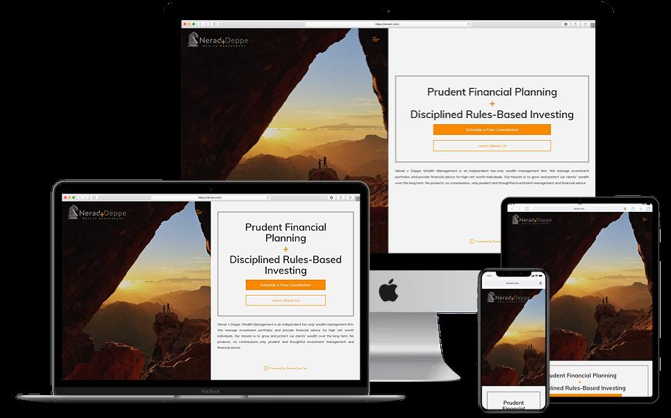 Nerad and Deppe Wealth Management Website