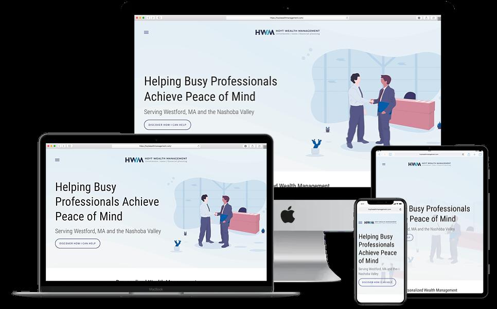 Hoyt Wealth Management Website