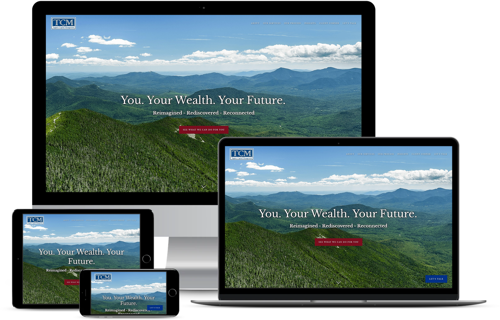 Tapparo Capital management best financial advisor websites built by twenty over ten