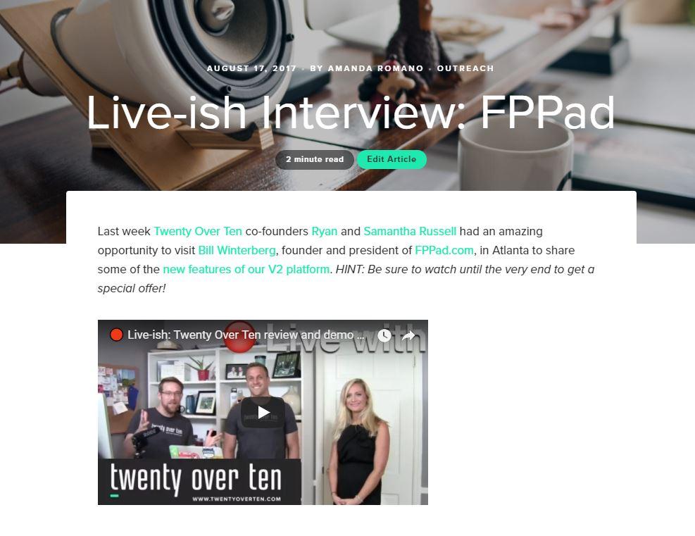 tot blog interview