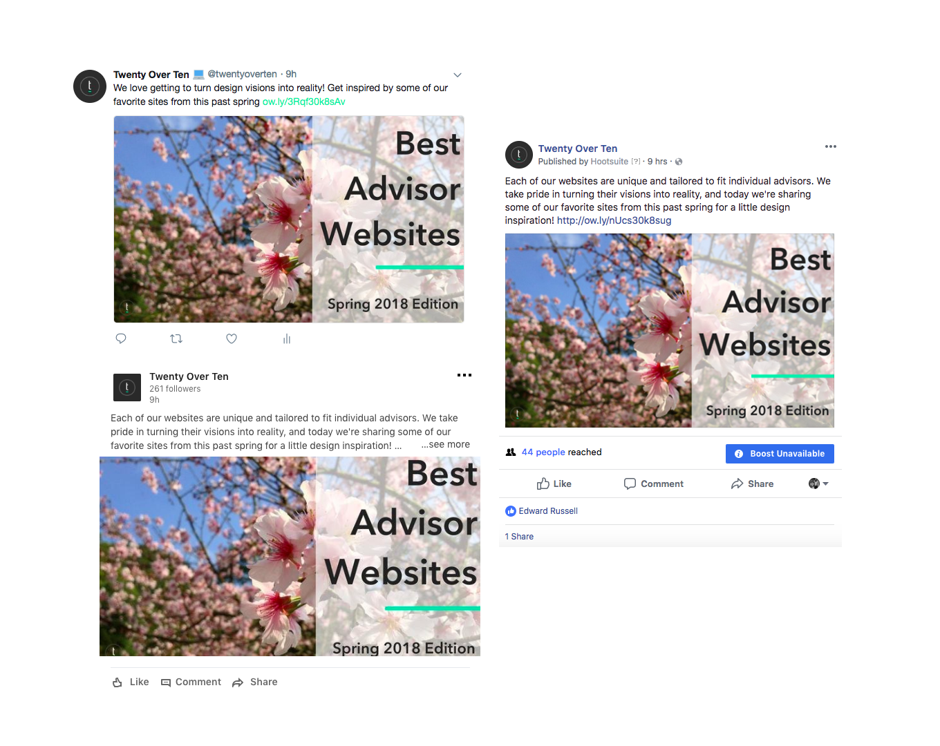 promoting your blogs on social media