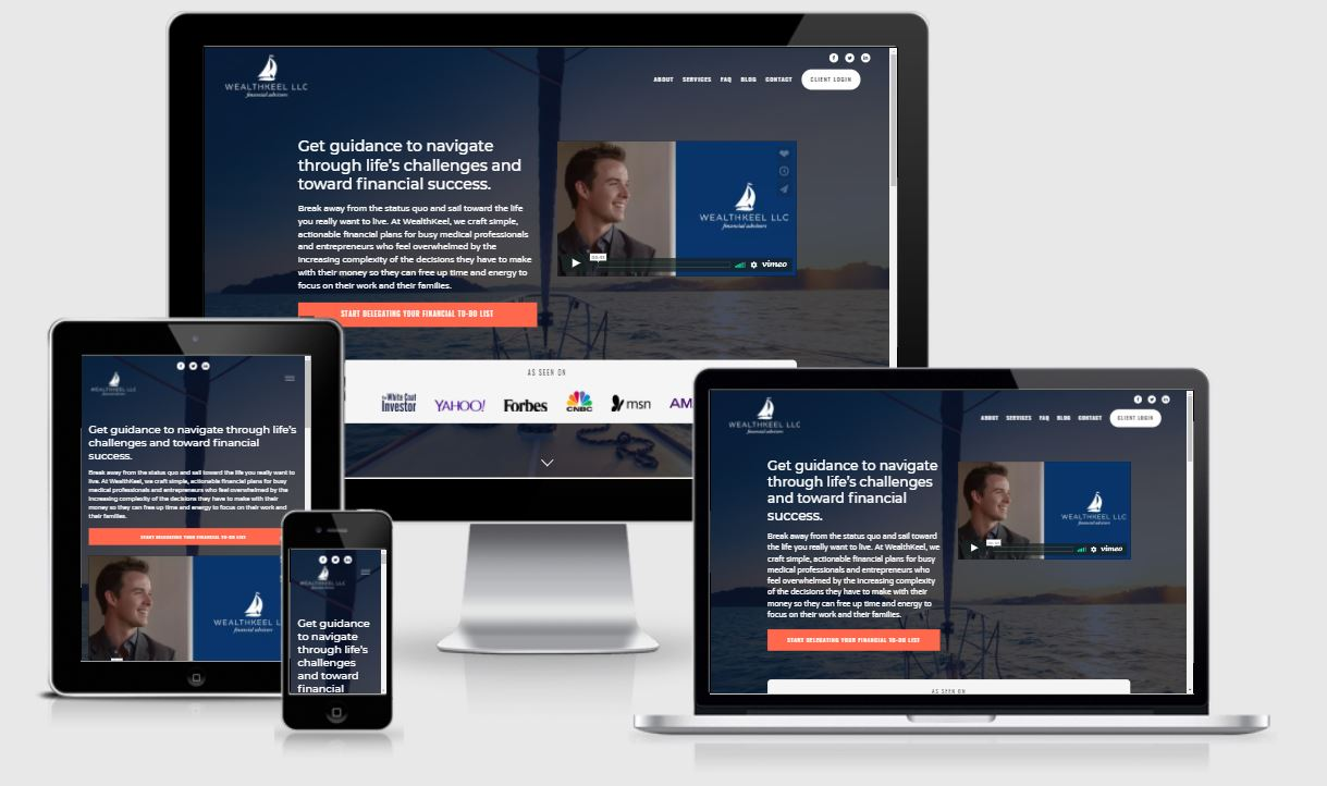 best financial advisor websites, weathkeel llc
