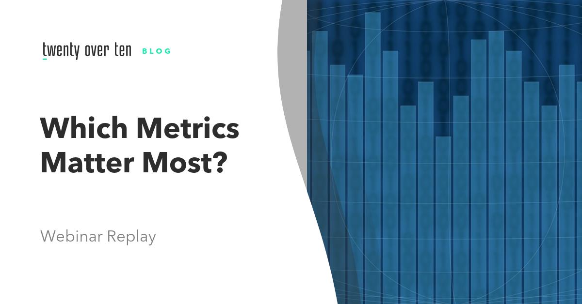 what metrics matter most webinar for google analytics for financial advisors